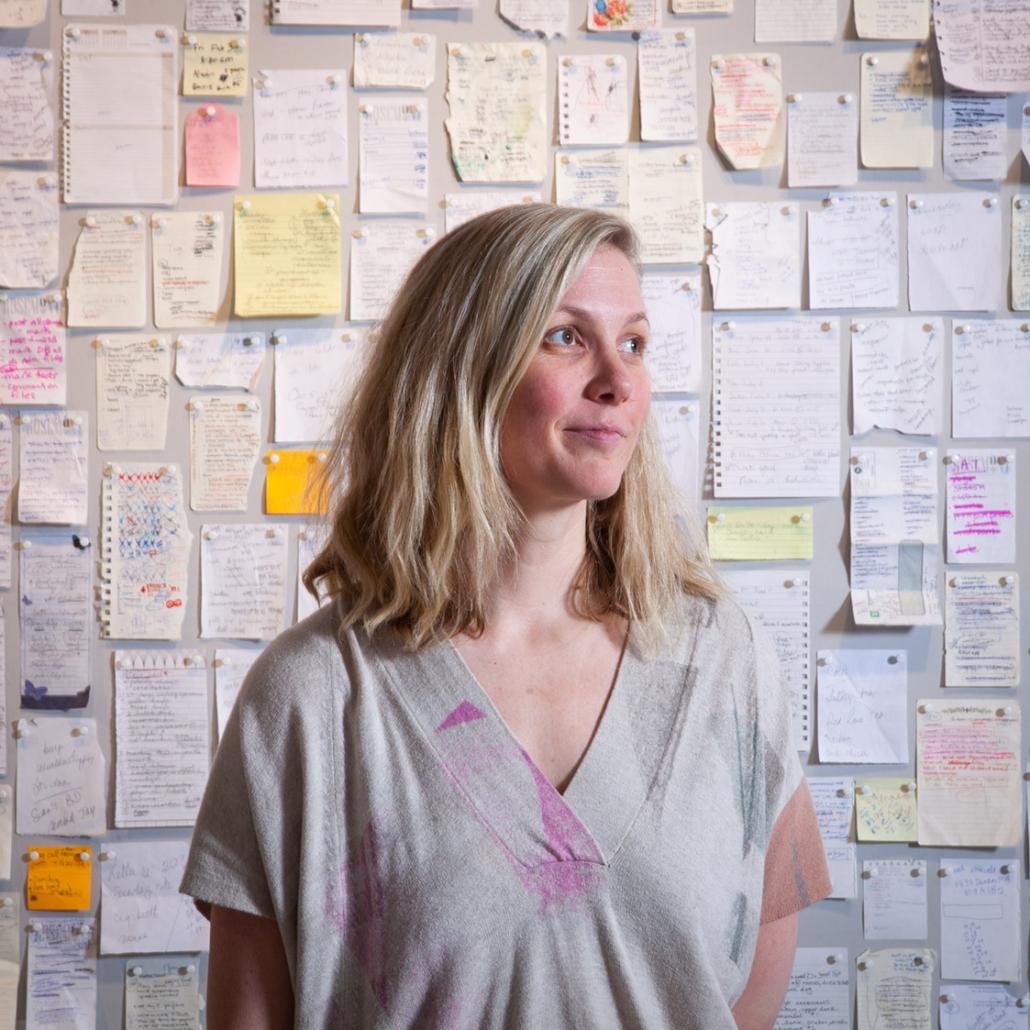 Amy Bagshaw Artist Portrait